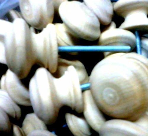 100 tiradores de madera cajones puerta herrajes manija