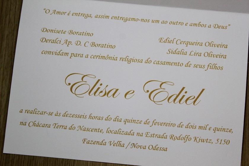 100 Unidades Convite Casamento Aniversário 15 Anos Bodas R