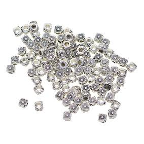 a20b91d6a59a 100 Unidades Perlas Cuentas Sueltas De Plata Tibetana Antig