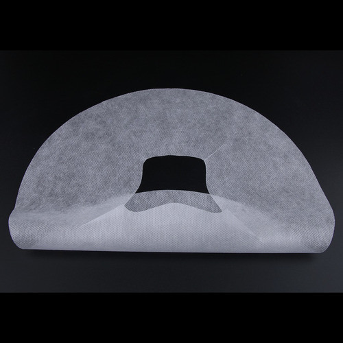 100 unids masaje desechable resto de cara fundas de cojines