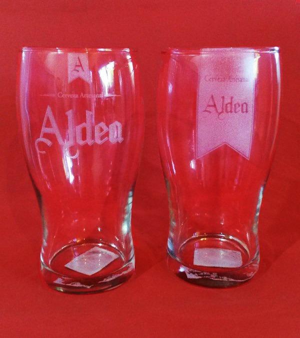 aa357ea8b 100 Vasos Pinta Cerveza Grabado Laser - Logos Merchandising ...