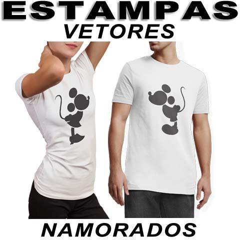 89b8f759532e3 100 Vetores Editáveis Dia Dos Namorados Estampas Camisetas - R  18 ...