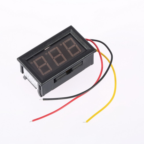 100 voltímetros led digital importado de 3 a 30v display