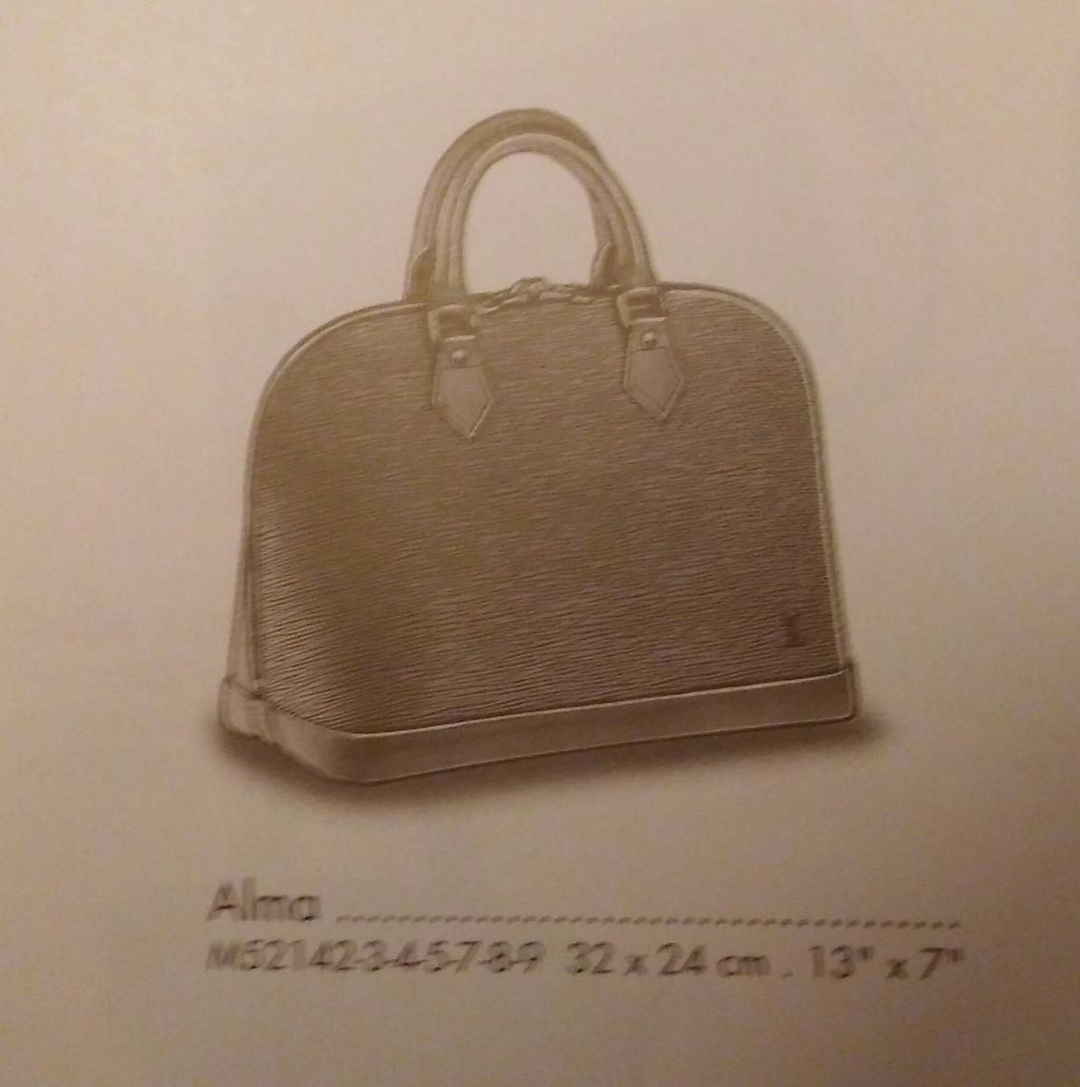 7790ef790 100% Vuitton Cartera Alma M52142 Al 50%de Su Precio En Paris ...