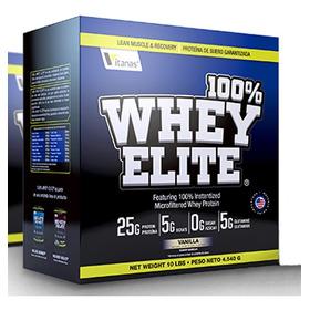100% Whey Elite - 10 Libras - Músculo, Definición, Proteína