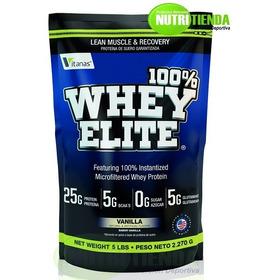 100% Whey Elite - 5 Libras - Músculo, Definición, Proteína