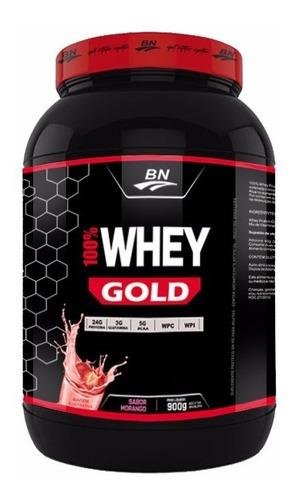 100% whey gold 900g chocolate (+ luva caleira)