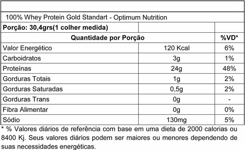 100% whey gold standard 900g - on / optimum + coqueteleira