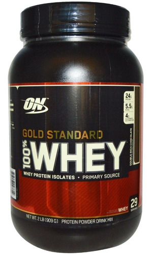 100% whey gold standard 907g - optimum nutrition - on