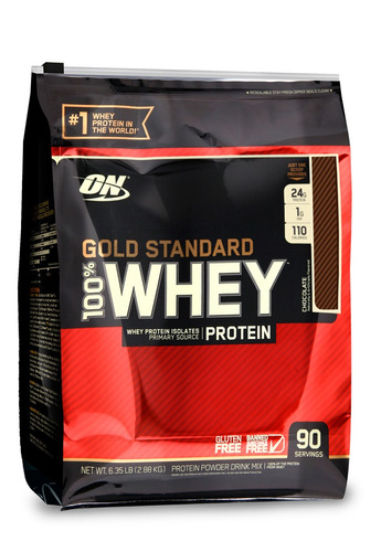 100% whey protein 6lb gold standard - optimum nutrition