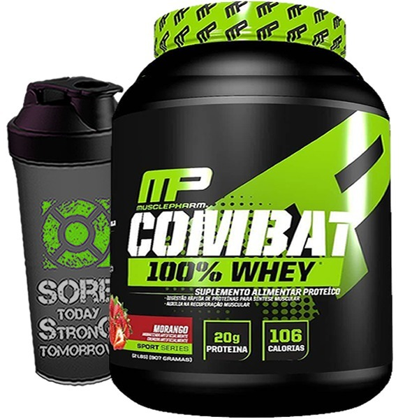 236935f03 100% Whey Protein Combat 1.8kg - Musclepharm - Isolado + Wpc - R ...