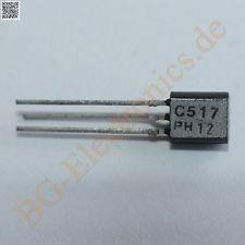 100 x transistor bc517 philips prata / kit com 100 peças