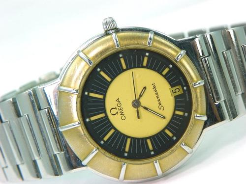 100% y original reloj omega seamaster coleccionable.