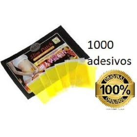1000 Adesivos Slim Patch Original + 5 Pares De Anel Magnet