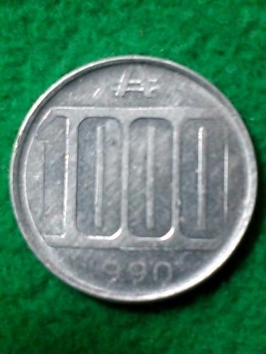 1000 australes. argentina. 1990