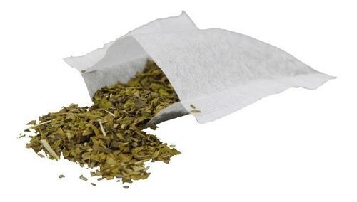 1000 bolsas bolsitas nuevas vacías té infusión café hierbas