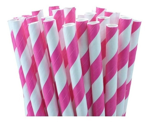 1000 canudo de papel vintage colorido ecologicamente correto
