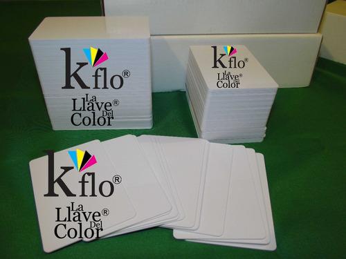 1000 credenciales tarjeta pvc p/ imprimir impresora epson