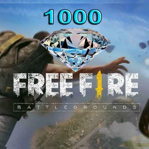 1000 diamantes free fire
