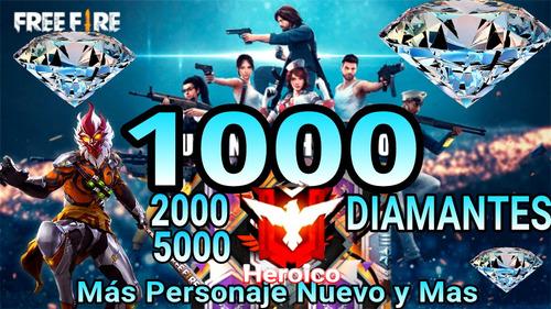 1000 diamantes free fire y premios mas personaje wukong