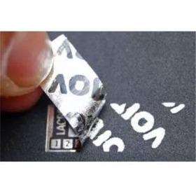 1000 Etiqueta Lacre De Garantia Void Prata 30 X 10 Mm