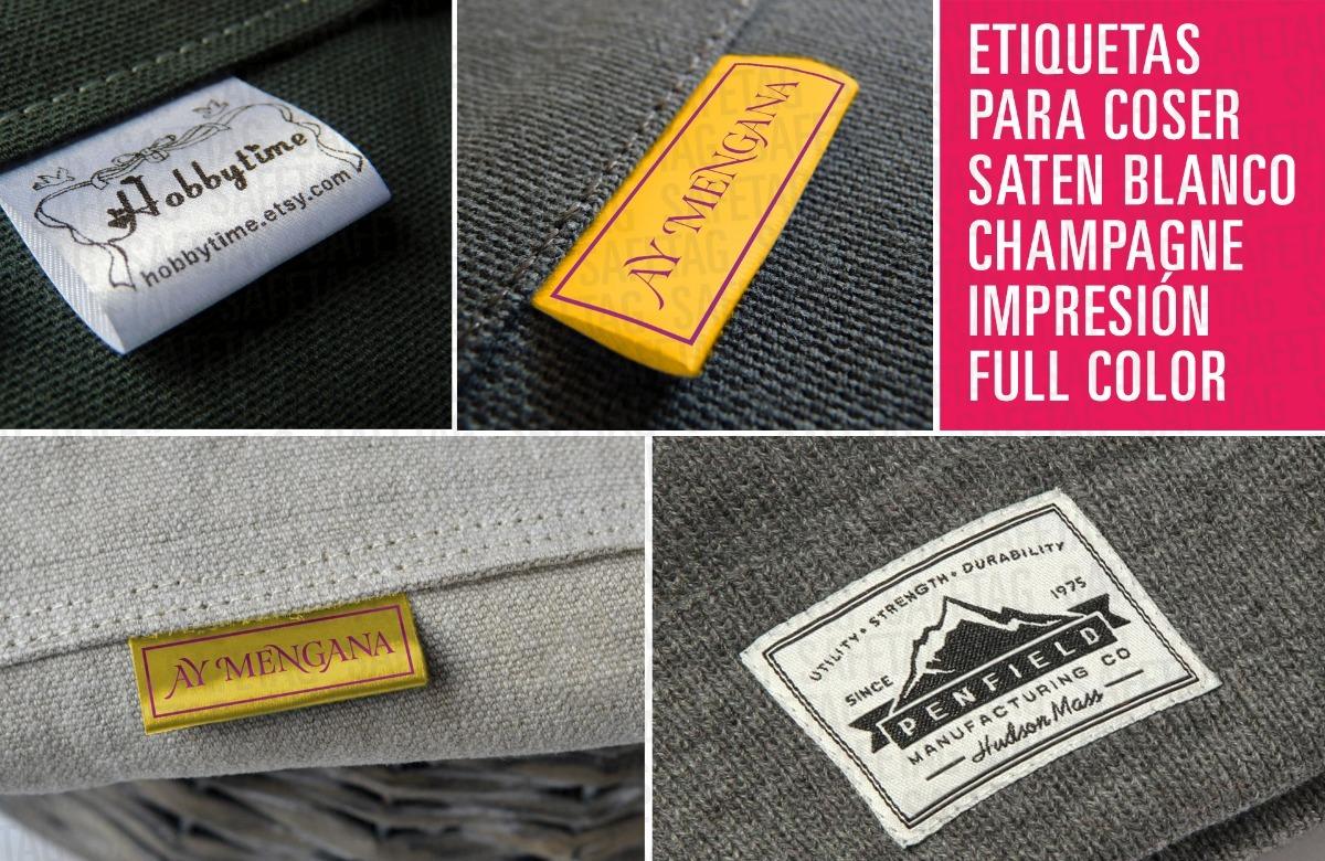 b26414ff1f9ba 1000 etiquetas para ropa de tela composiciòn datos lavado. Cargando zoom.