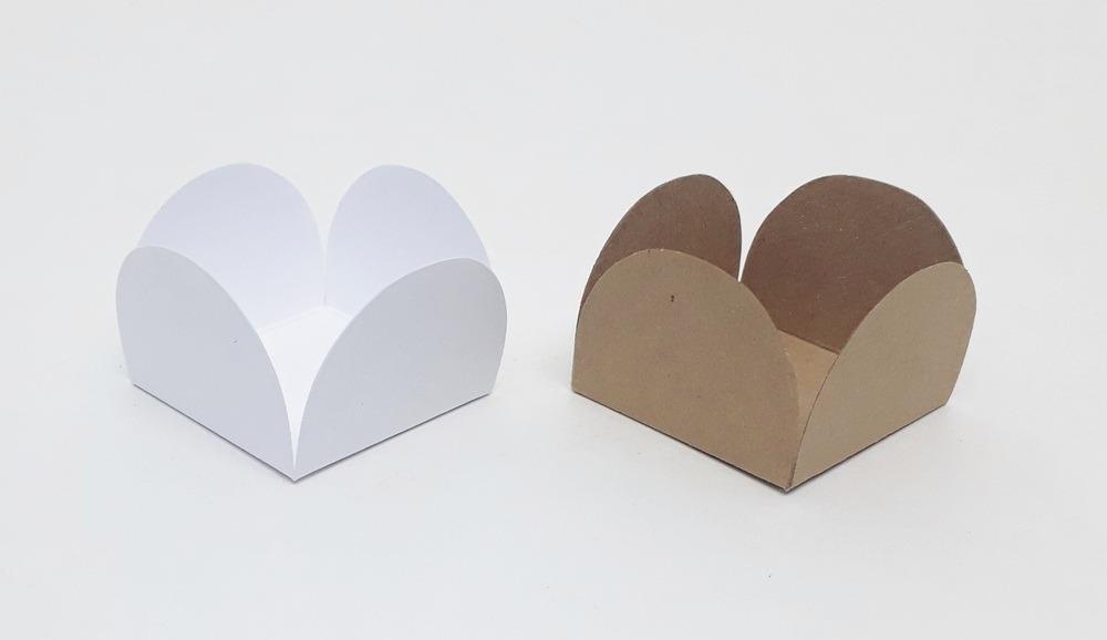 1000 Formas Forminha Doce Fino P Casamento Branca E Kraft R 35