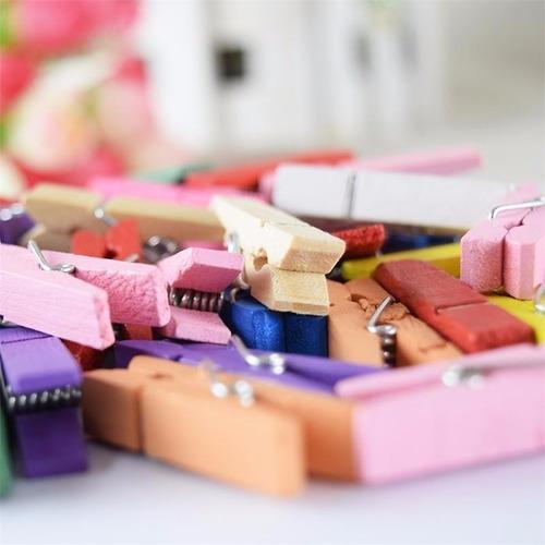 1000 mini broches colores surtidos - brochecitos 3,5cm