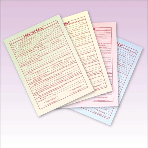 1000 notas de remision 1/2 oficio orig+3 copias 1 tinta