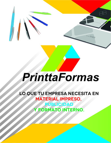 1000 notas de remisión 1/4 carta 1 copia y folio. 2 tintas
