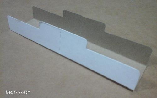 1000 pancheras porta panchos (con divisor para doble rinde)