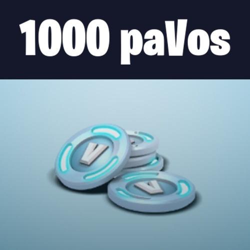 1000 pavos fortnite