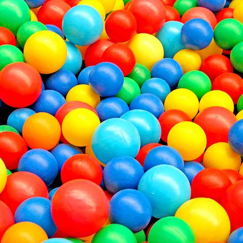 1000 pelotas plasticas 7 cm resistente grande juegos piscina