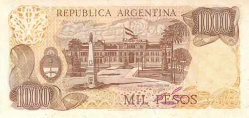 1000 pesos ley 18.188 2 billetes correlativos bottero