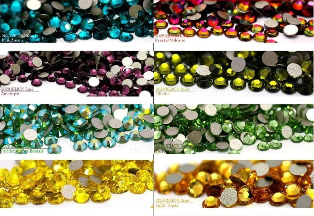 1000 Piedras Cristales Para Decoracion De Uñas Y Acrilicas - $ 79.99 ...