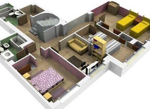 1000 planos profesionales de casas hechos en autocad - Cad casa gratis ...