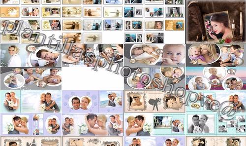 1000 plantillas photoshop foto libros editables psd
