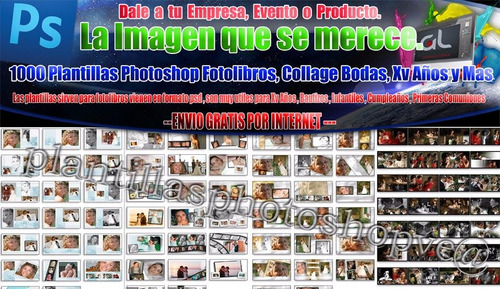 1000 plantillas photoshop foto libros editables psd