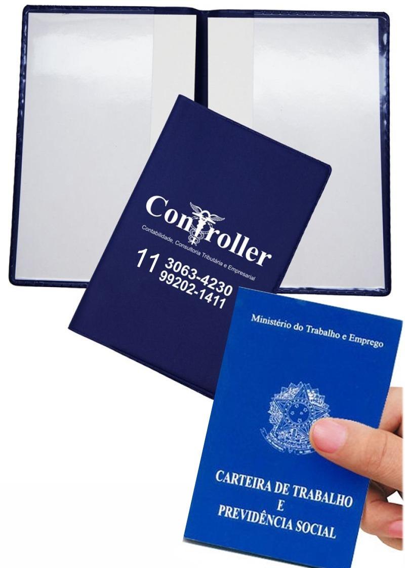 16e2e07e3c 1000 porta carteira de trabalho personalizada. Carregando zoom.