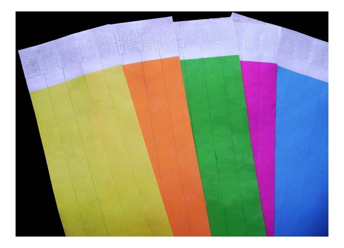 178545c371f9 1.000 Pulseras Vip De Tyvek Para Eventos (sin Impresión)