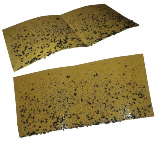 1000 refil adesivo 45x22 cm amarelo matar moscas mosquitos