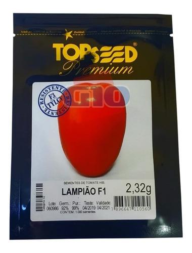 1000 sementes de tomate hib lampião f1