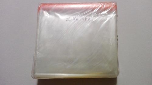 1000 sobre celofan bolsas 22.5x17 solo adhesivo media carta