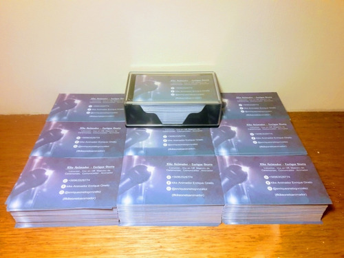 1000 tarjeta de presentación diseño gratis