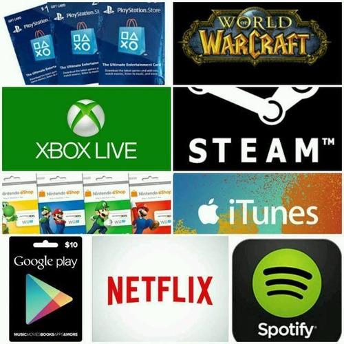 $10.00 tarjeta playstation store, region usa, ps3/ps4