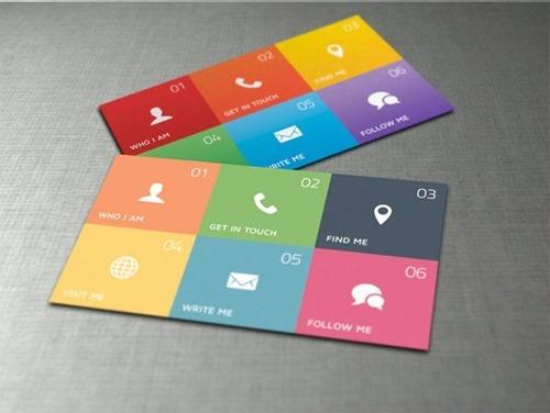 1000 tarjetas de presentación