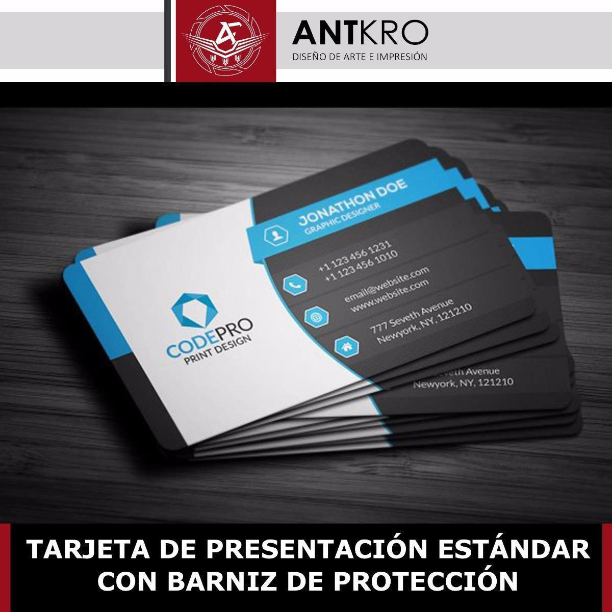 81d9004edb3ed Tarjetas de presentación modelo blue envío incluido cargando zoom jpg  1200x1200 Tarjetas de presentacion