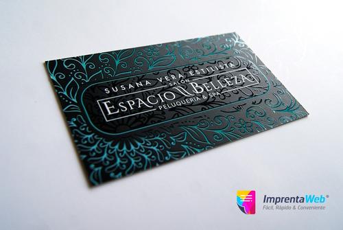 1000 tarjetas de presentacion premium, gift cards