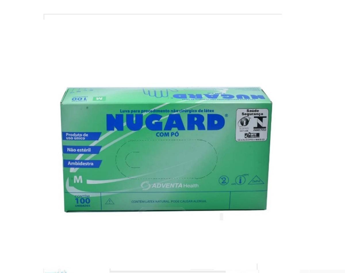 1000 Uni De Luvas De Látex Cirúrgica Procedimento Nugard (m) - R ... f19d73d078
