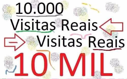 1.000 visitas para sites, blog, loja virtual, etc